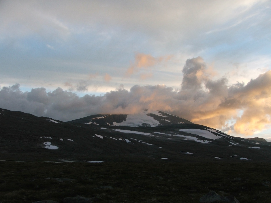 12. Zachód słońca w Dovrefjell.