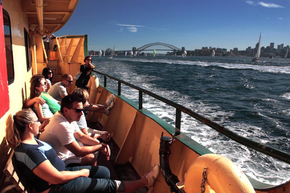13. AUSTRALIA, Sydney. Promem po zatoce. (Fot. Magda Biskup)