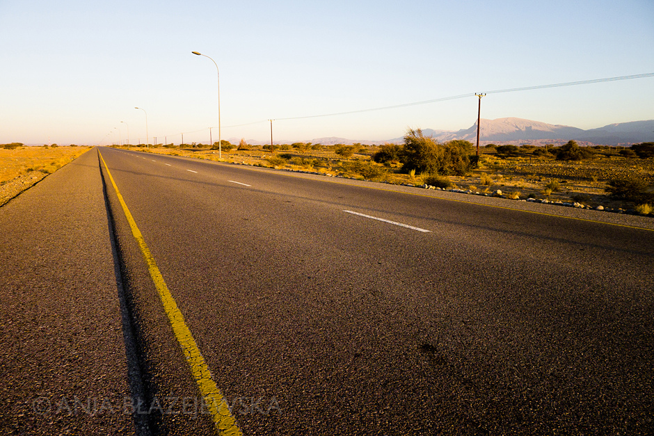 Oman, trasa Muscat - Sur