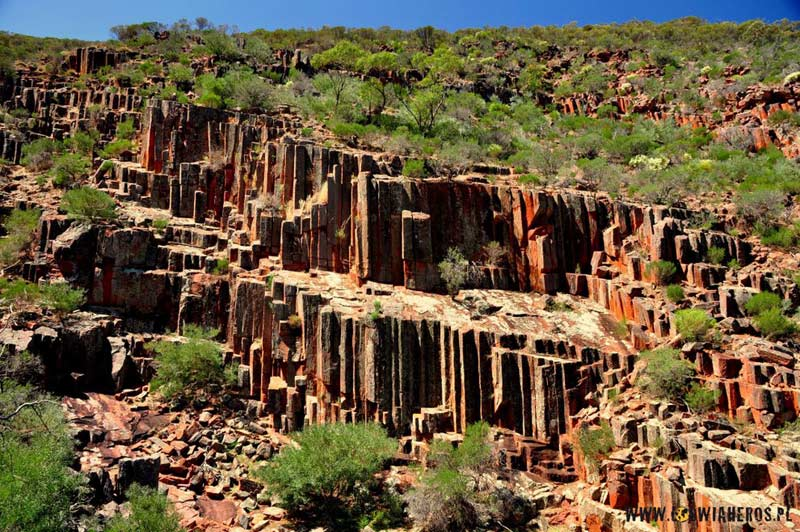Australia - Organ Pipes