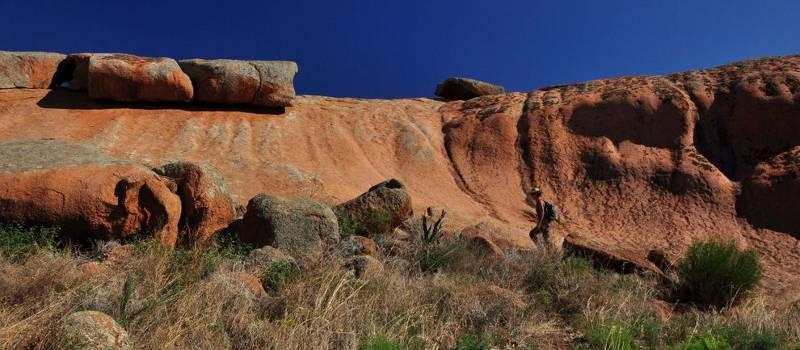 Dziwna skała – Pildappa Rock