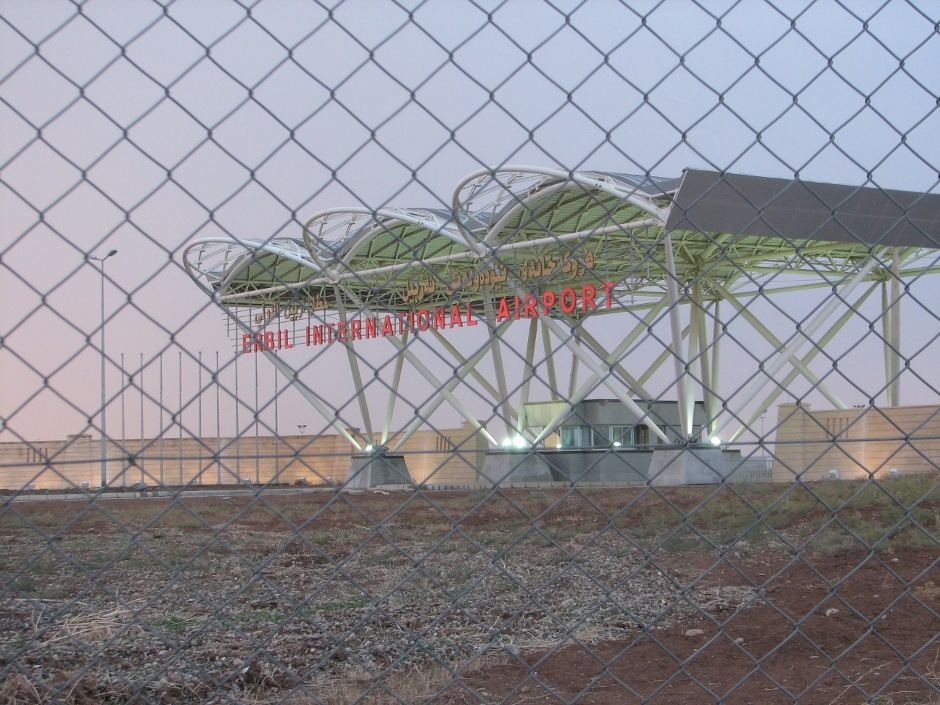 19. IRACKI KURDYSTAN, Erbil. Nowo otwarty terminal lotniska. (Fot. Katarzyna Komorek)