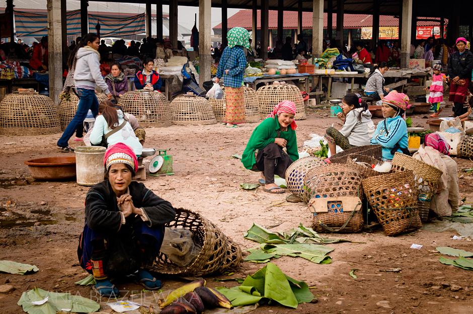 Laso - w wiosce ludu Akha
