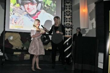 Anna Jackowska otrzymała nagrodę za projekt Bałkany 2010. (Fot. Ewa Serwicka)