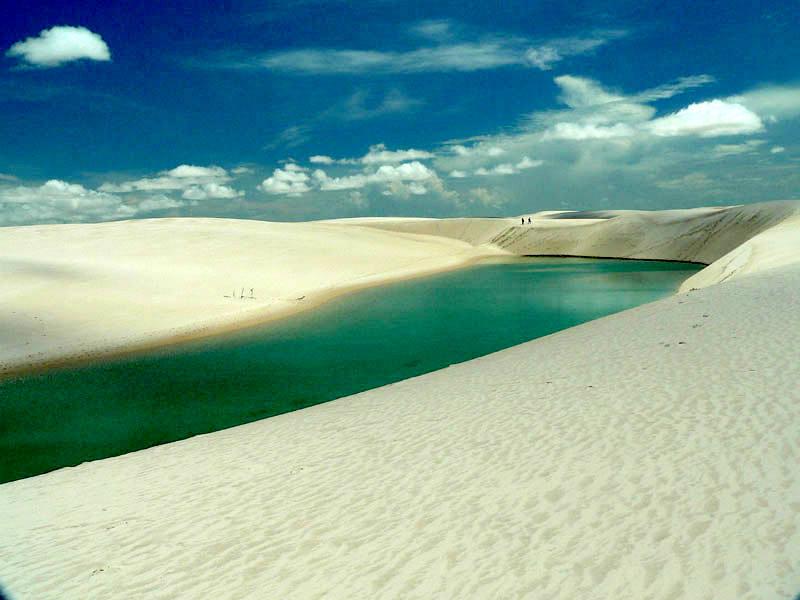 Park Dos Lencois to 155 hektarów wydm. (Fot. Dorota Muszyńska)
