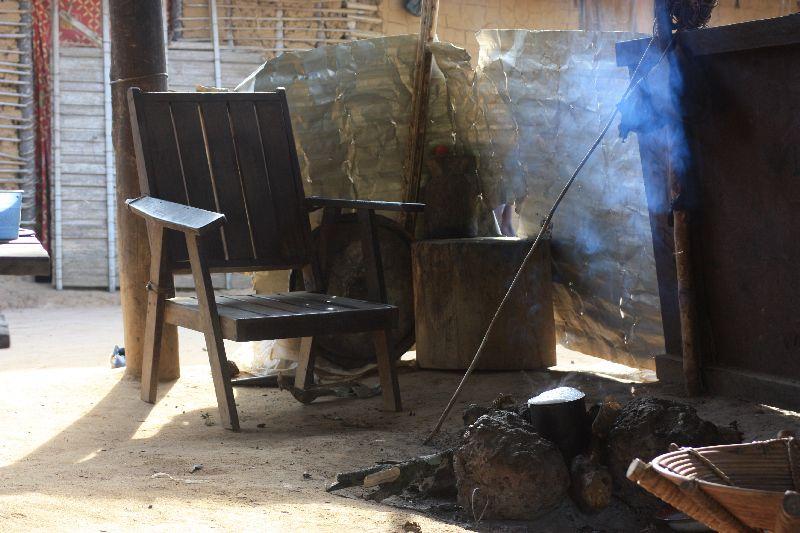 Siedziba prezydenta wioski. (Fot. www.afrykanowaka.pl)