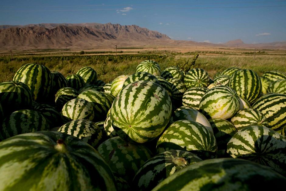 2. ARMENIA. Arbuzy nauczyć się tam jeść - trzeba. (Fot. Thomas Alboth)