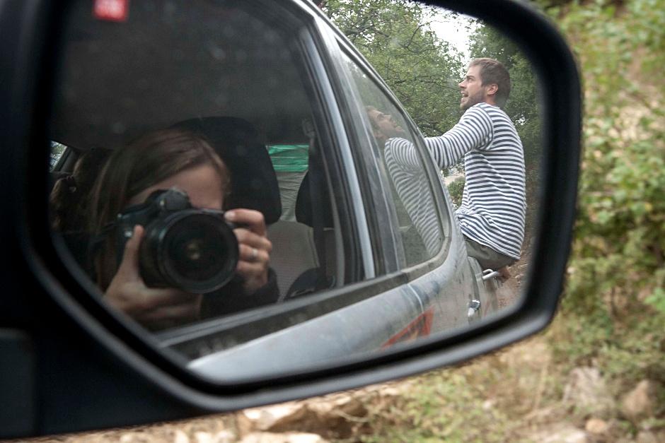 18. GÓRSKI KARABACH. Dzień turystyczny. Jedziemy odwiedzić drzewo, które ma 2000 lat. Stopem. (Fot. Anna Alboth)