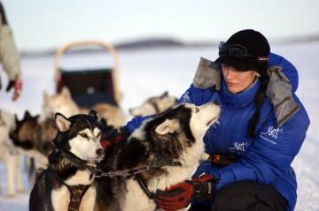 Darię Nowakowską w psich zaprzęgach najbardziej pociąga bliski kontakt z psami i naturą.