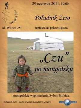 O Mongolii w Południku Zero opowie Sylwia Kubiak.