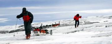 Zrealizowana w 2010 roku wyprawa na Islandię zakończyła się pełnym sukcesem. Choc łatwo nie było... (Fot. Grzegorz Gontarz)