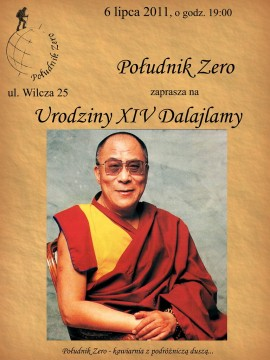 Urodziny Dalajlamy w Południku Zero