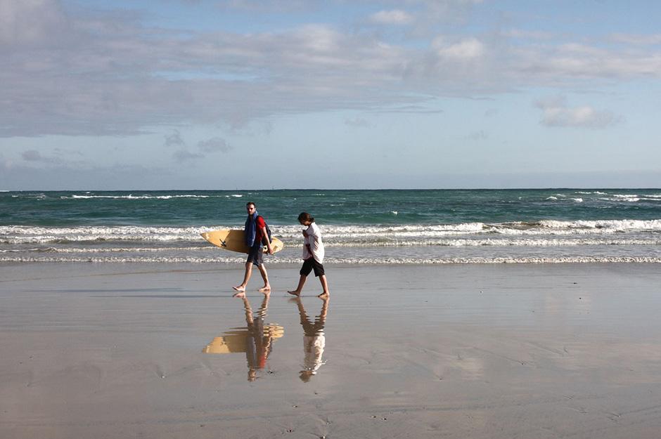 12. GALAPAGOS, Puerto Villamil na wyspie Isabella. Na wyspach archipelagu można także surfować. Jedna z popularniejszych plaż nadających się do uprawiania tego sportu znajduje się w Puerto Villamil na wyspie Isabella. (Fot. Magda Biskup)