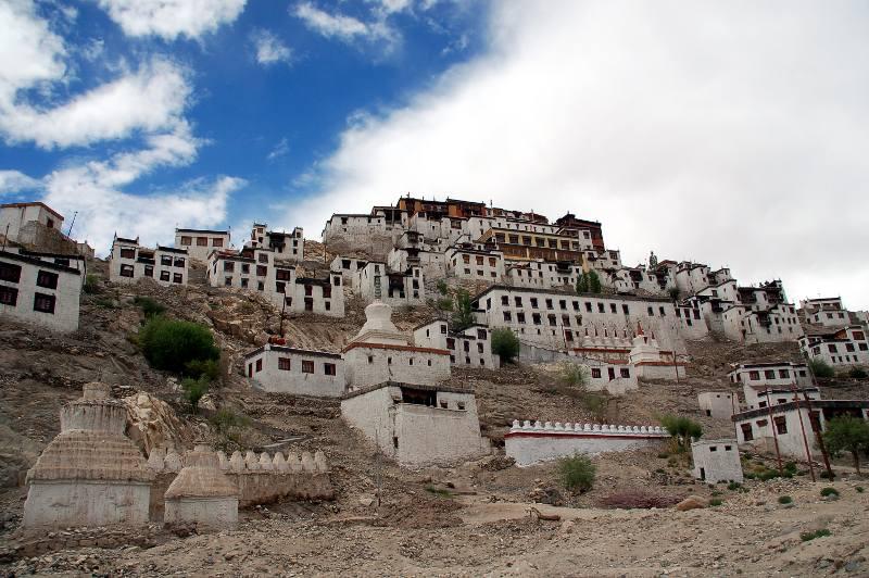 Klasztor Thiksey. Ladakh, Indie