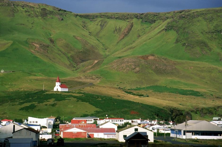 KMiasteczko Vik w Islandii