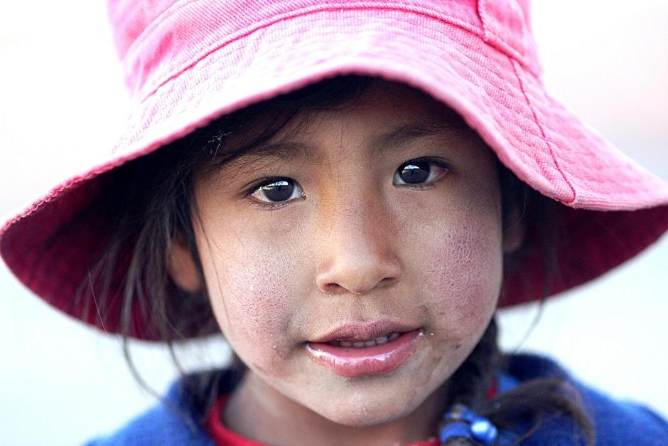 19. BOLIWIA. Dziewczynka spotkana w okolicach miejscowości Sabaya. (Fot. Piotr Strzeżysz)