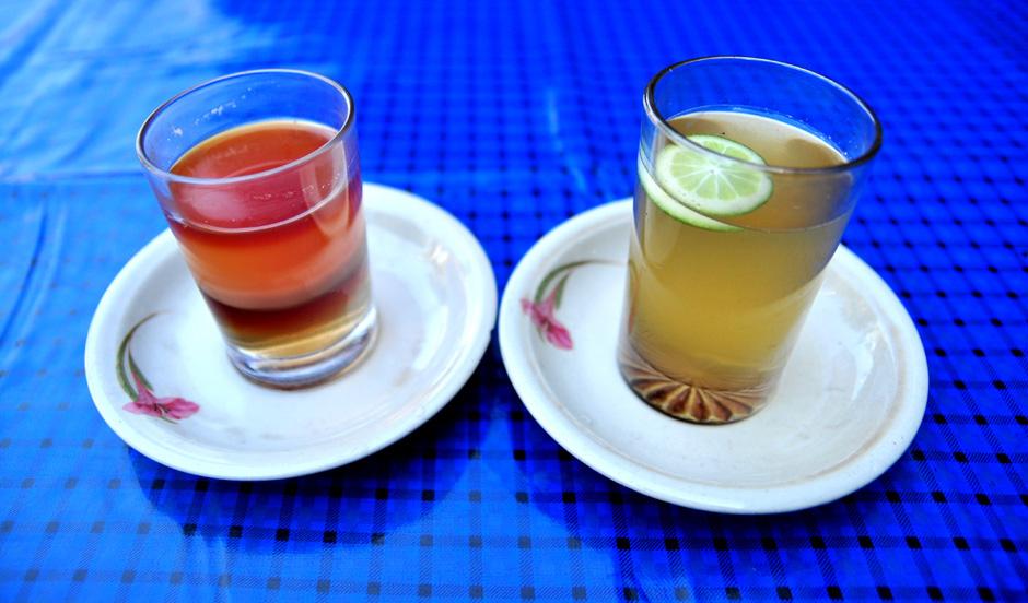 Specjalnosć zakładu - biała herbata z imbirem