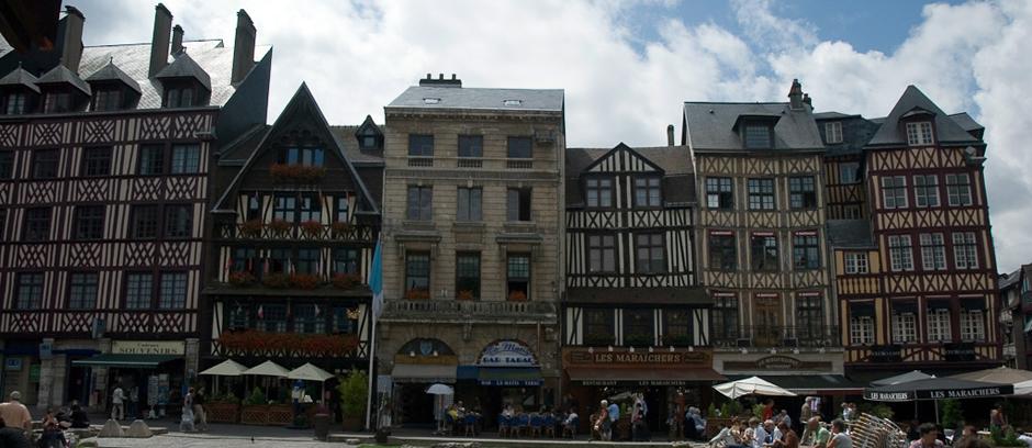 Rouen we Francji