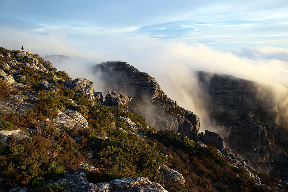 Góra Stołowa na obrzeżach Kapsztadu