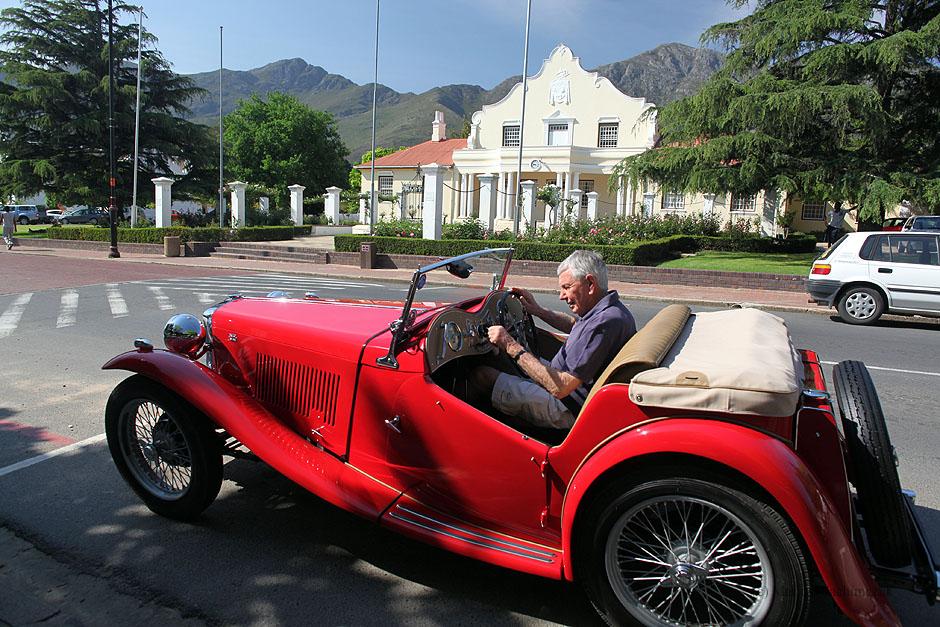 Zdjęcia z RPA, miasteczko Franschhoek.
