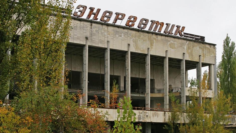 3. UKRAINA, Prypeć. Awaria reaktora miała miejsce w nocy z 25 na 26 kwietnia 1986 r. , Prypeć ewakuowano (wg pierwotnych założeń tylko czasowo) dzień później. (Fot. Ewa Serwicka)