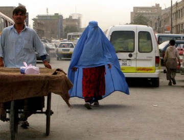 Ulica w Afganistanie. (Fot. Adam Chałupski)