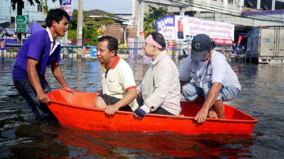 Powódź w Bangkoku