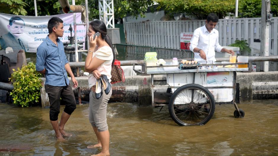 Powódź w Bangkoku - zdjęcia