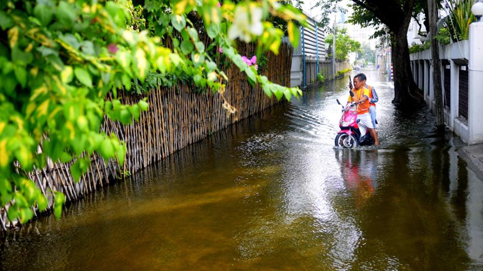 Powódź w Bangkoku - fotoreportaż