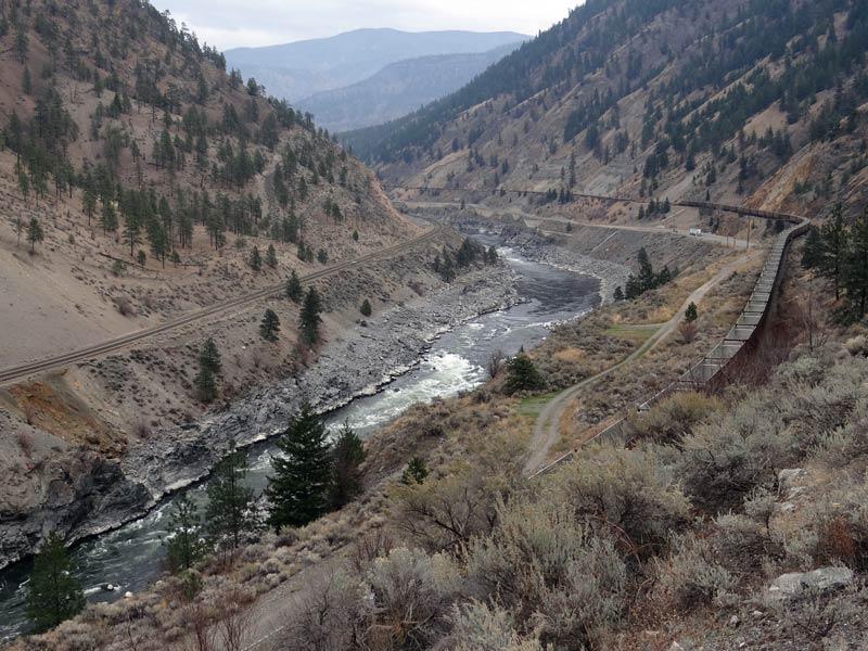 Wąwóz rzeki Frazer. (Fot. Piotr Strzeżysz)