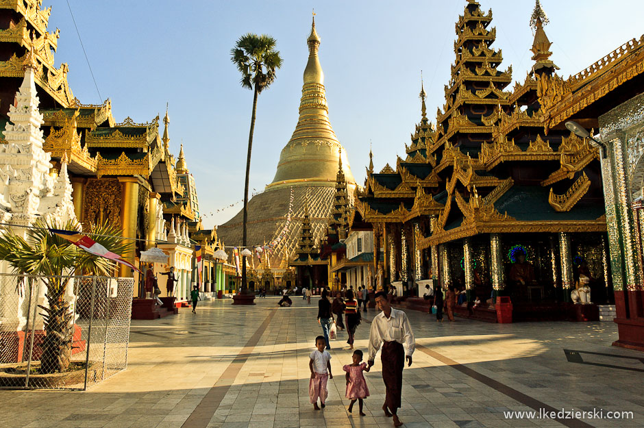 Pagoda w Rangun