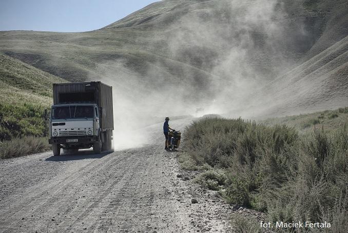 Rowerowa podróż przez Środkową Azję