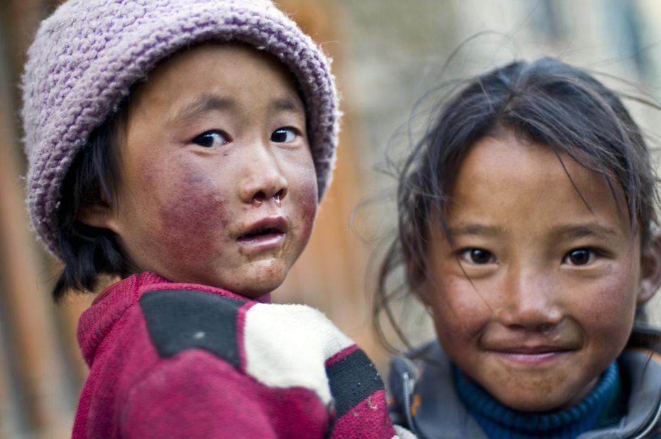 Nepalskie dzieciaki