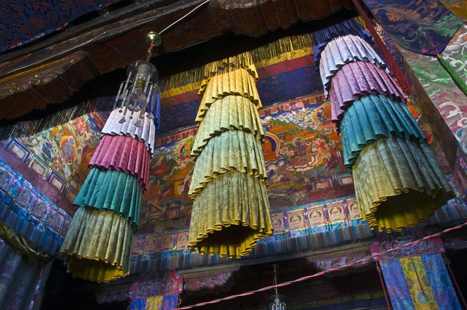 Zdjęcia z Nepalu - buddyjska światynia