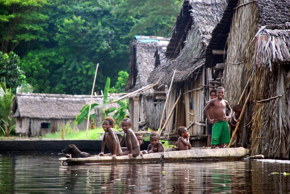Życie codzienne w Nowej Gwinei