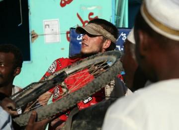 Zbyszek w Sudanie. (Fot. Grzegorz Król)