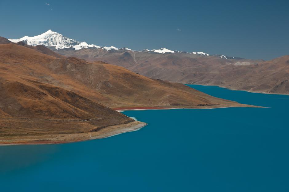 Zdjęcia z podróży do Tybetu. Jezioro Yamdrok