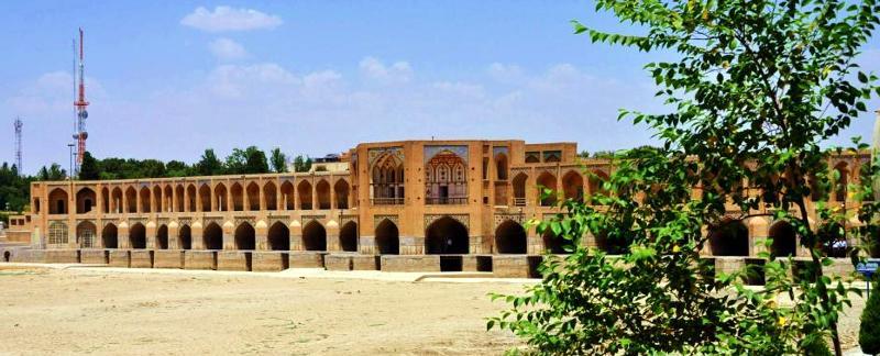 Zabytkowy most w irańskim Esfahanie