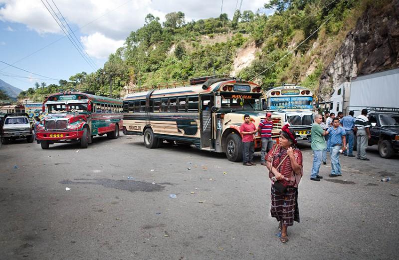 Strajk kierowców w Gwatemali