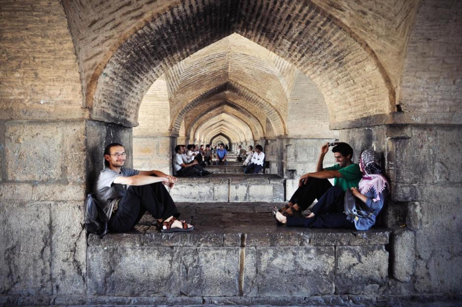 Tak Irańczycy spędzaja czas wolny w Esfahanie