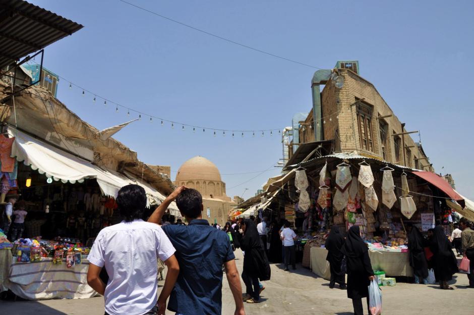 W trakcie podróży po Iranie często odwiedzaliśmy bazary