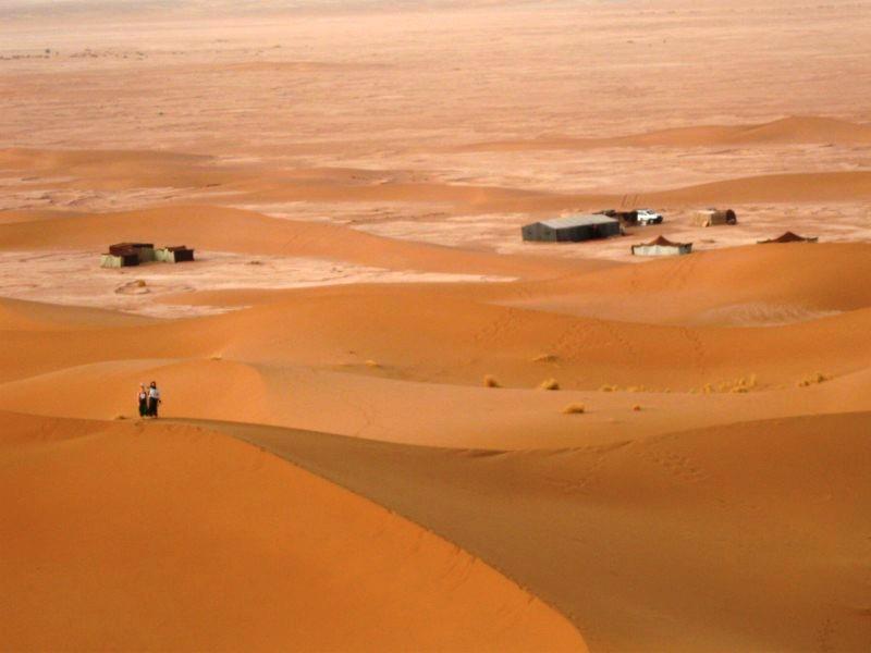 Marokańska pustynia