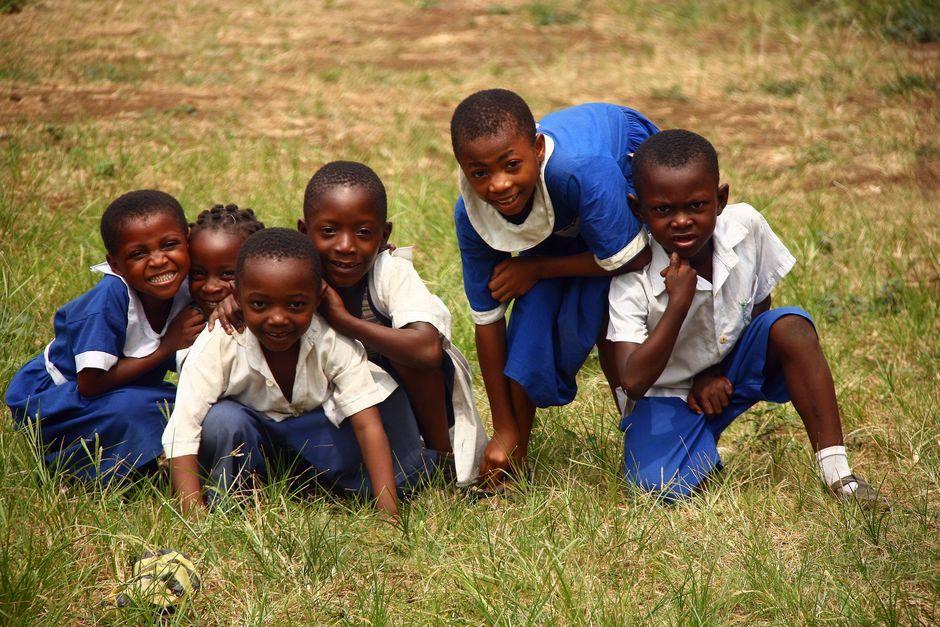 Dzieci w Nigerii