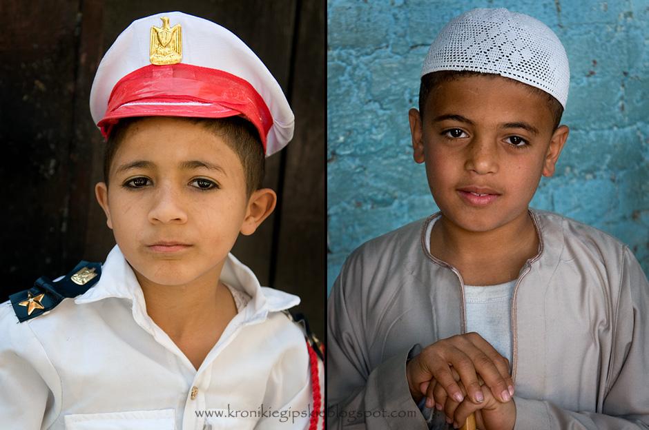 Dzieciaki z Egiptu