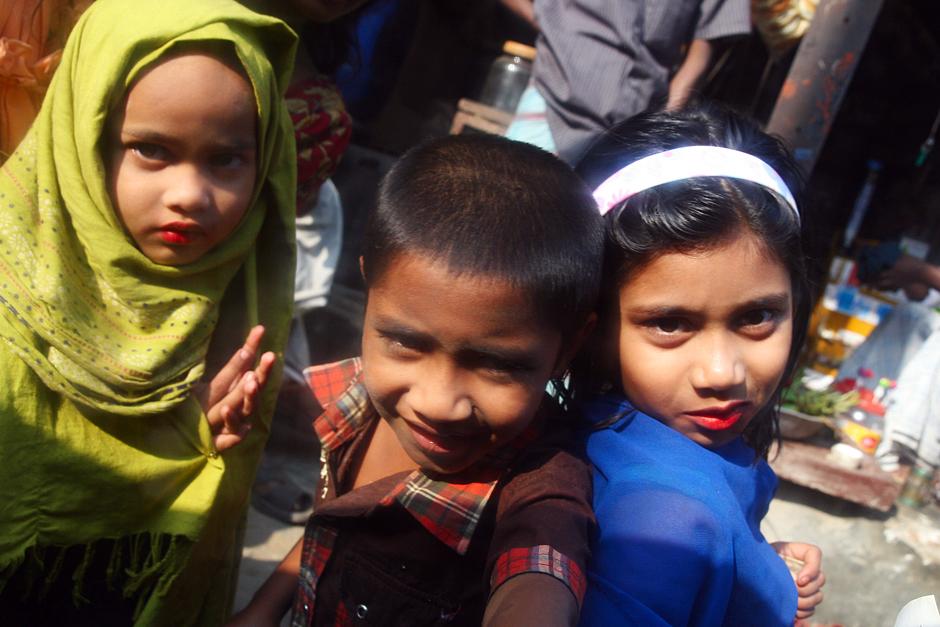 Dzieci z Bangladeszu