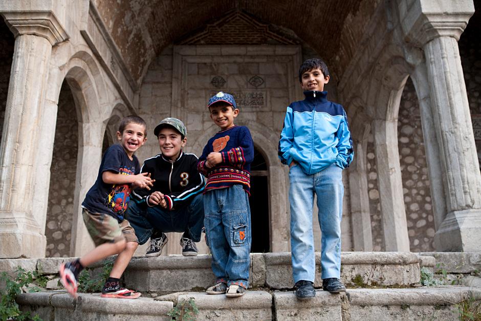 Ormiańskie dzieci w Górskim Karabachu