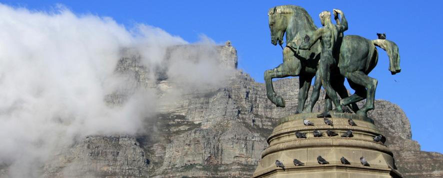 Widok na Górę Stołową z Kapsztadu
