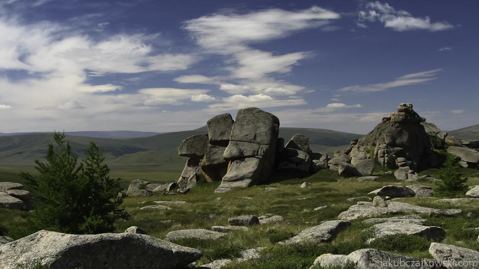 Góry Changaj w Mongolii