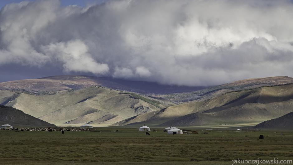 Jurty w Mongolii