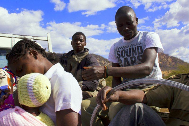 Jazda autostopem przez Mozambik